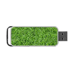 Green Grass 2 Portable Usb Flash (one Side) by trendistuff