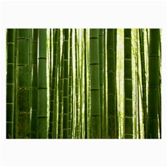 Bamboo Grove 2 Large Glasses Cloth (2 Side) by trendistuff