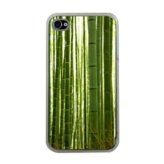 Bamboo Grove 2 Apple Iphone 4 Case (clear) by trendistuff