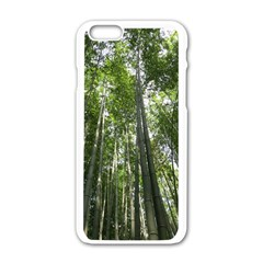 Bamboo Grove 1 Apple Iphone 6/6s White Enamel Case by trendistuff