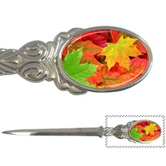 Autumn Leaves 1 Letter Openers by trendistuff