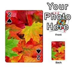 Autumn Leaves 1 Playing Cards 54 Designs