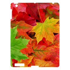 Autumn Leaves 1 Apple Ipad 3/4 Hardshell Case by trendistuff