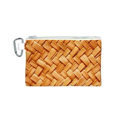 WOVEN STRAW Canvas Cosmetic Bag (S) by trendistuff