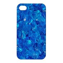 Turquoise Glass Apple Iphone 4/4s Hardshell Case by trendistuff