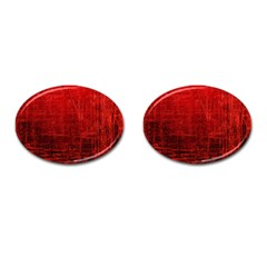Shades Of Red Cufflinks (oval) by trendistuff