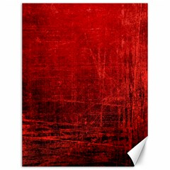 Shades Of Red Canvas 12  X 16   by trendistuff