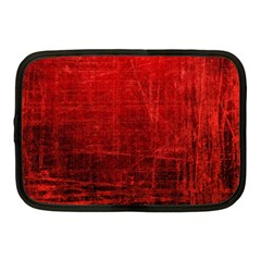 Shades Of Red Netbook Case (medium)  by trendistuff