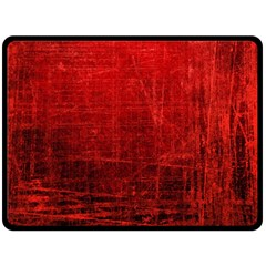 Shades Of Red Double Sided Fleece Blanket (large)  by trendistuff