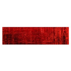 Shades Of Red Satin Scarf (oblong) by trendistuff