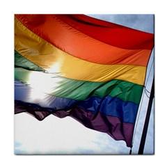 Pride Flag Face Towel by trendistuff