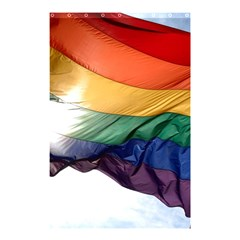 Pride Flag Shower Curtain 48  X 72  (small)  by trendistuff