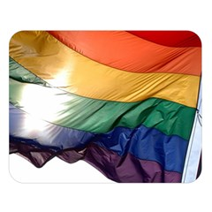 Pride Flag Double Sided Flano Blanket (large)  by trendistuff