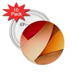 PRETTY ABSTRACT ART 2.25  Buttons (10 pack)  Front