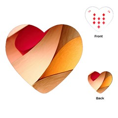 Pretty Abstract Art Playing Cards (heart)  by trendistuff