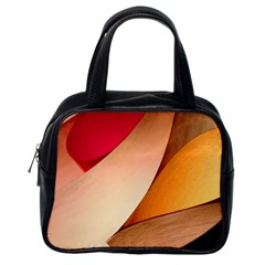 Pretty Abstract Art Classic Handbags (one Side) by trendistuff