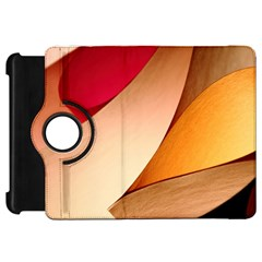 Pretty Abstract Art Kindle Fire Hd Flip 360 Case by trendistuff