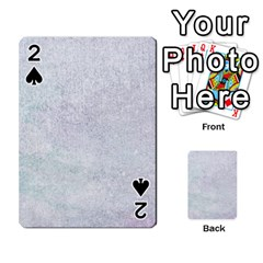 Paper Colors Playing Cards 54 Designs