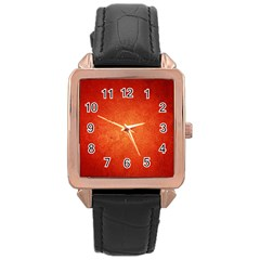 Orange Dot Art Rose Gold Watches by trendistuff