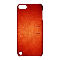 Orange Dot Art Apple Ipod Touch 5 Hardshell Case With Stand by trendistuff