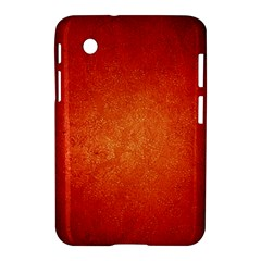 Orange Dot Art Samsung Galaxy Tab 2 (7 ) P3100 Hardshell Case  by trendistuff