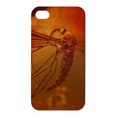 Mosquito In Amber Apple Iphone 4/4s Hardshell Case by trendistuff