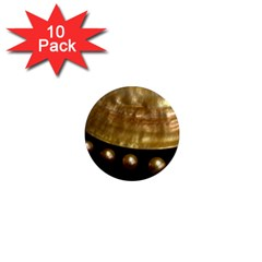 Golden Pearls 1  Mini Magnet (10 Pack)  by trendistuff