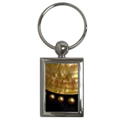 Golden Pearls Key Chains (rectangle)  by trendistuff