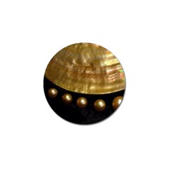 Golden Pearls Golf Ball Marker (4 Pack) by trendistuff