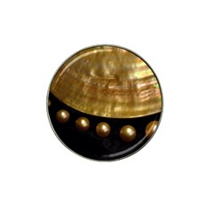 Golden Pearls Hat Clip Ball Marker by trendistuff