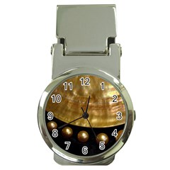 Golden Pearls Money Clip Watches by trendistuff