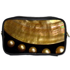 Golden Pearls Toiletries Bags by trendistuff