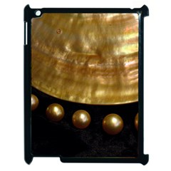 Golden Pearls Apple Ipad 2 Case (black) by trendistuff