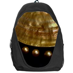 Golden Pearls Backpack Bag by trendistuff