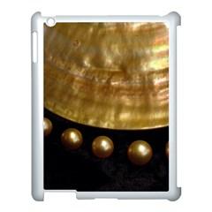 Golden Pearls Apple Ipad 3/4 Case (white) by trendistuff