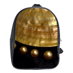 Golden Pearls School Bags (xl)  by trendistuff