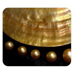 Golden Pearls Double Sided Flano Blanket (small)  by trendistuff