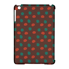 Distorted Polka Dots Pattern Apple Ipad Mini Hardshell Case (compatible With Smart Cover) by LalyLauraFLM