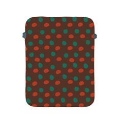 Distorted Polka Dots Pattern Apple Ipad 2/3/4 Protective Soft Case by LalyLauraFLM