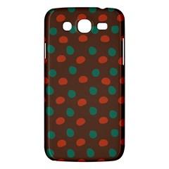 Distorted Polka Dots Pattern Samsung Galaxy Mega 5 8 I9152 Hardshell Case  by LalyLauraFLM