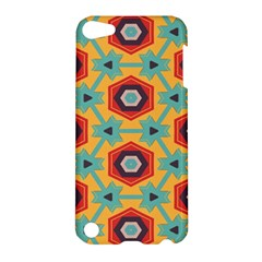 Stars And Honeycomb Pattern Apple Ipod Touch 5 Hardshell Case by LalyLauraFLM