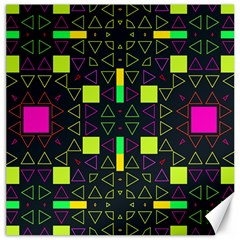 Triangles And Squares Canvas 16  X 16  by LalyLauraFLM