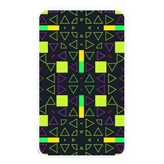 Triangles And Squares Memory Card Reader (rectangular) by LalyLauraFLM