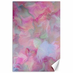 Soft Floral Pink Canvas 20  x 30   by MoreColorsinLife
