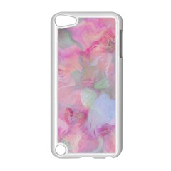 Soft Floral Pink Apple Ipod Touch 5 Case (white) by MoreColorsinLife