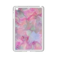Soft Floral Pink Ipad Mini 2 Enamel Coated Cases by MoreColorsinLife