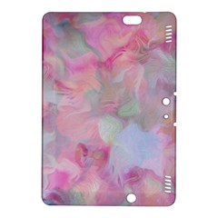 Soft Floral Pink Kindle Fire HDX 8.9  Hardshell Case by MoreColorsinLife
