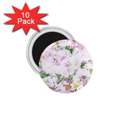 Soft Floral, Spring 1.75  Magnets (10 pack)  by MoreColorsinLife