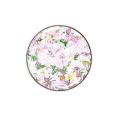 Soft Floral, Spring Hat Clip Ball Marker (4 Pack) by MoreColorsinLife
