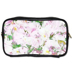 Soft Floral, Spring Toiletries Bags 2 Side by MoreColorsinLife
